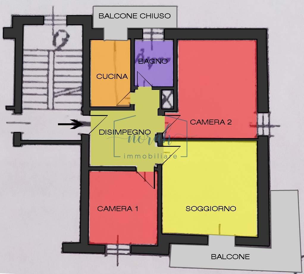 Appartamento In Vendita– Fermo -Codice ANF4