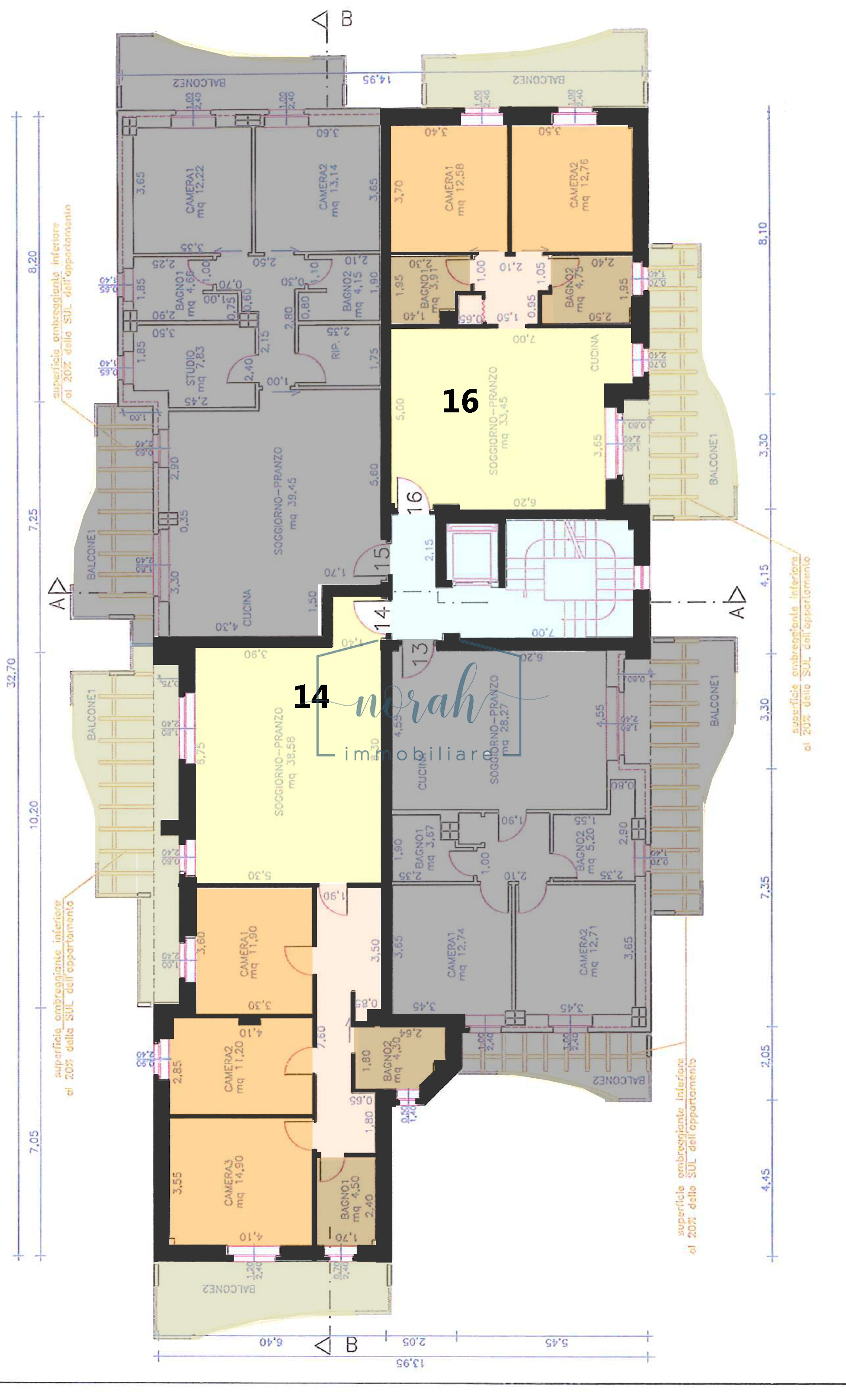 Appartamenti in vendita – Pedaso– Codice NPEV 3
