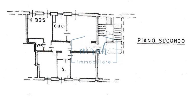 planimetria 3 a secondo piano